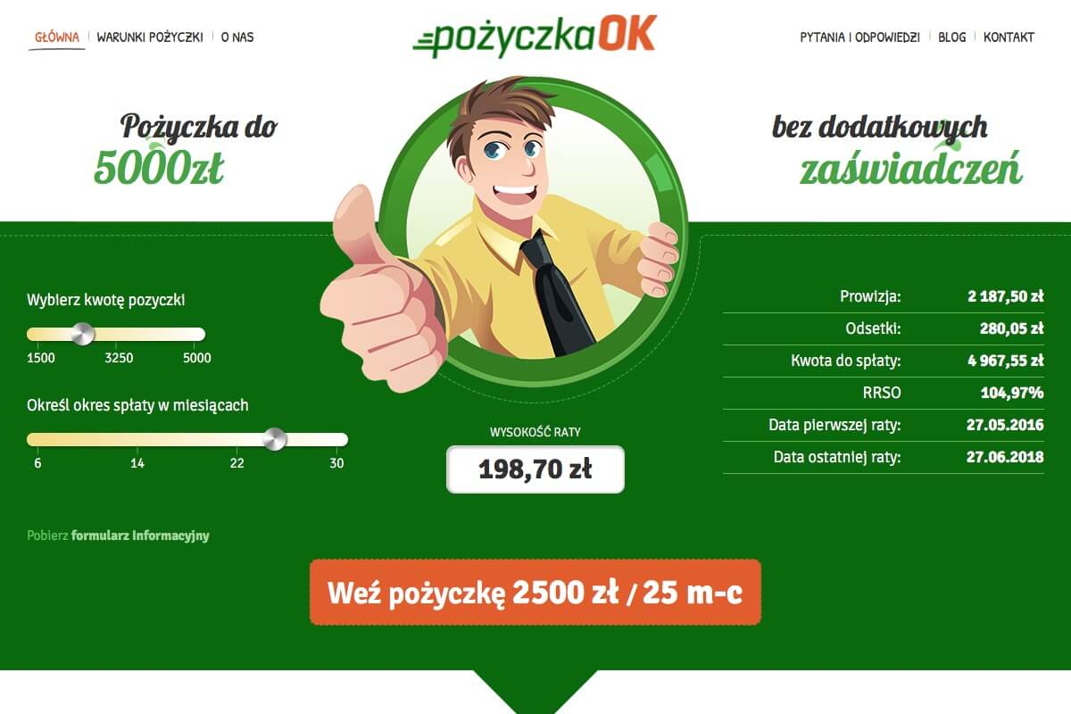 www.pozyczkaok.pl