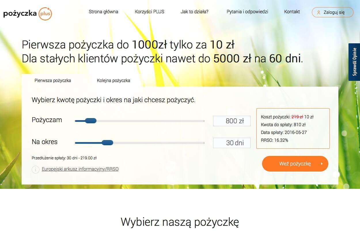 www.pozyczkaplus.pl