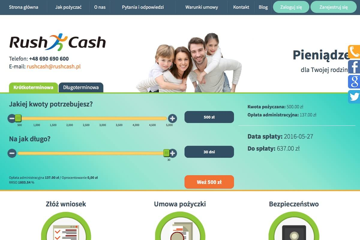 www.rushcash.pl