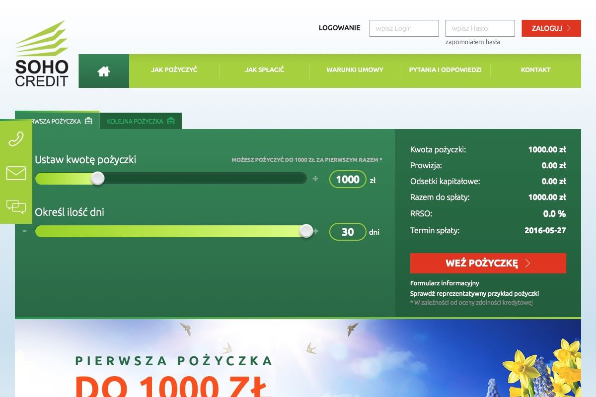 www.sohocredit.pl